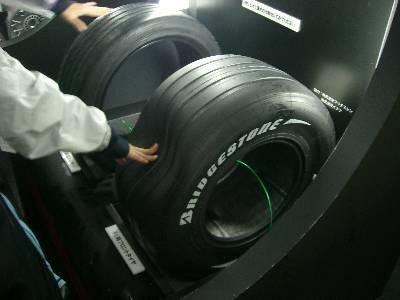 F1 のタイヤ