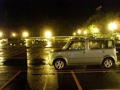 ガラガラの裾野 D 駐車場
