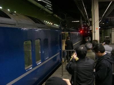 機関車連結作業