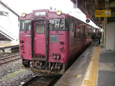 浜坂行き普通列車