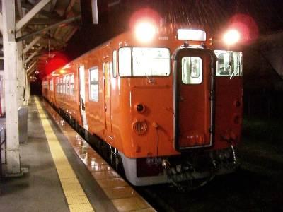 浜坂駅で乗継
